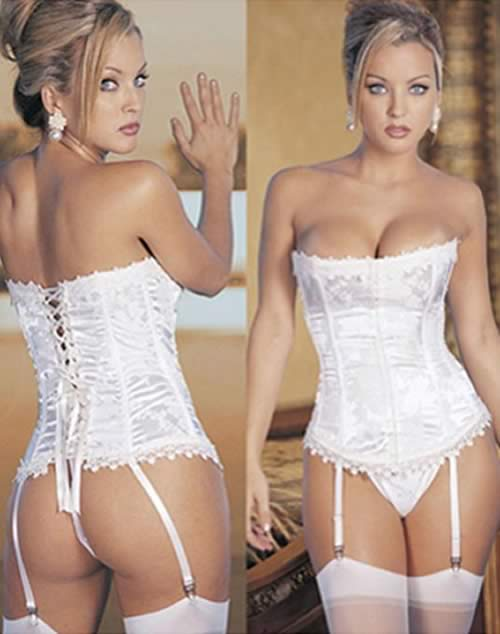 Best White Stunning Hourglass Corset for Women