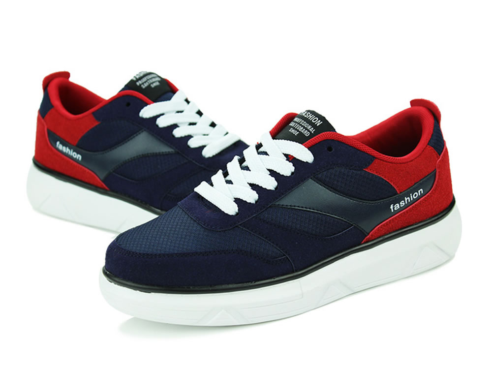 V17 New Fashion Tide Skate Running Shoes in Dark Blue