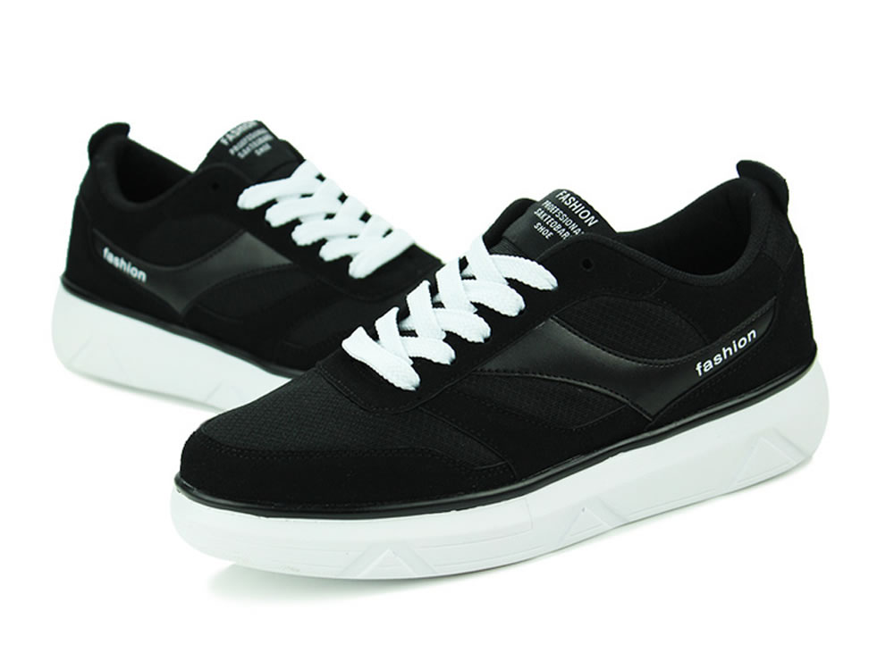 V17 New Fashion Tide Skate Running Shoes in Black
