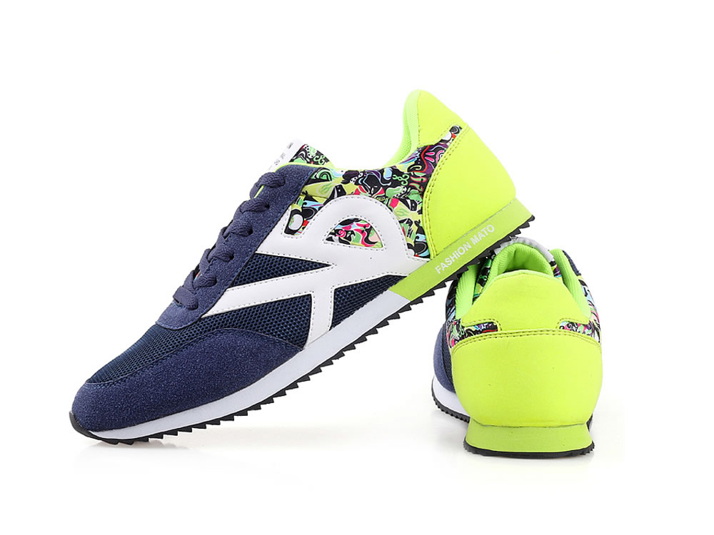V17 Handmade Super Light Leisure Running Shoes in Yellow