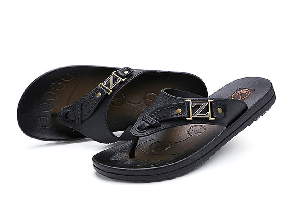 V17 Fashion Collocation Cozy Leisure Sandals in Black