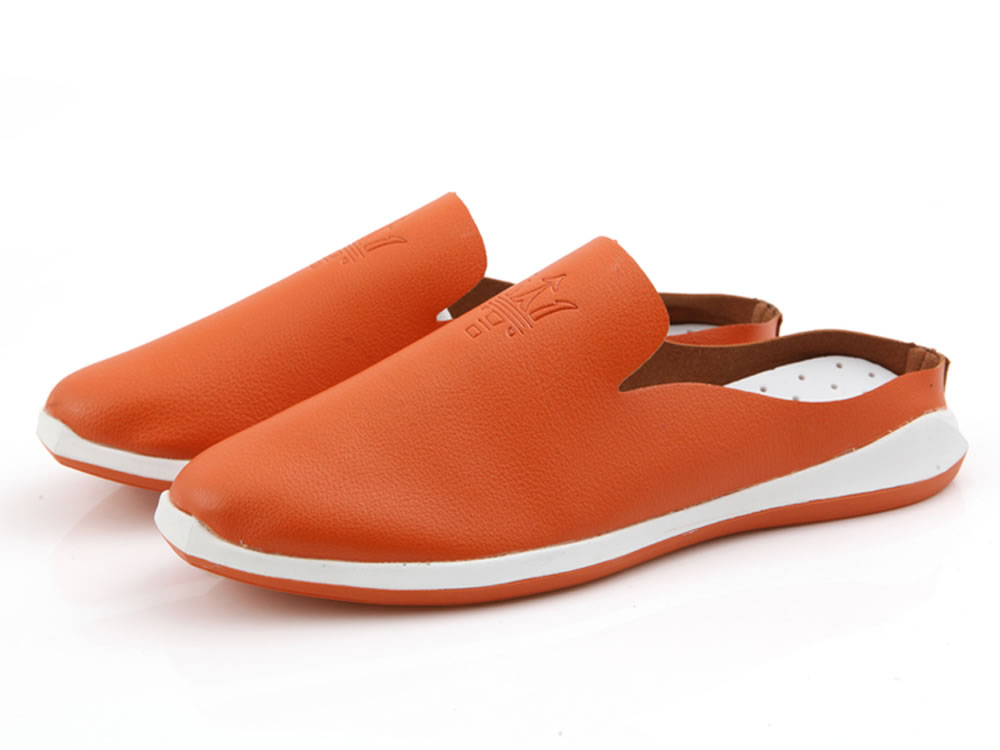 V17 Orange Breathable Super Fiber Skate Slippers Leisure Shoes