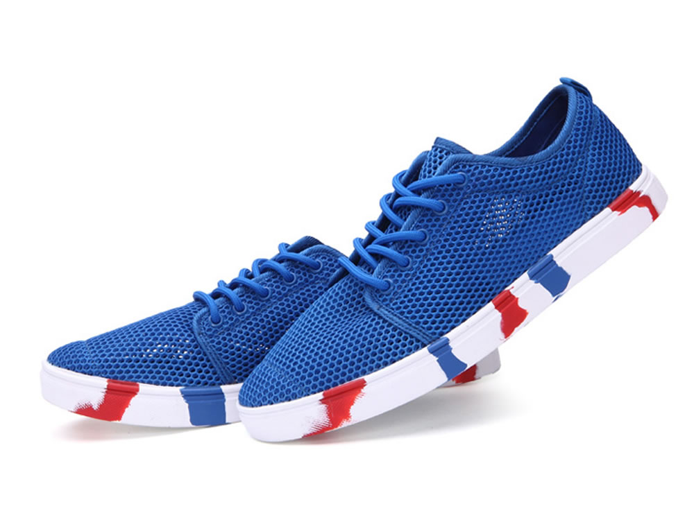 V17 Men Authentic Fashion Tennis Skate Couples Shoes in Blue