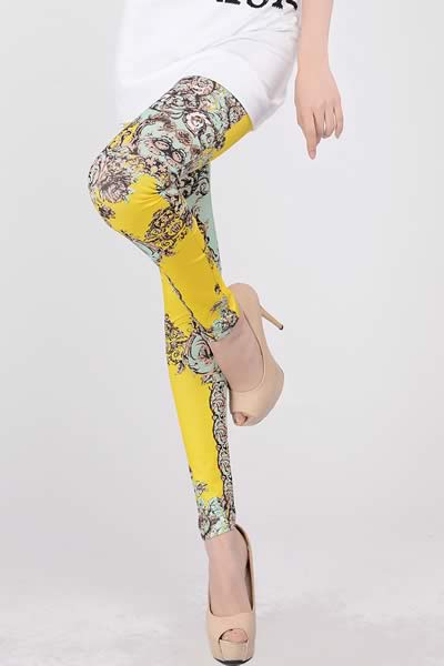 High Waist Eye Candy Stretch Leggings