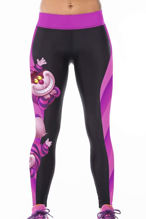 Women Animal Print Tight Running Yoga Leggings