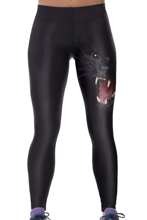 Howling Panther Women Yoga Pants for Sale