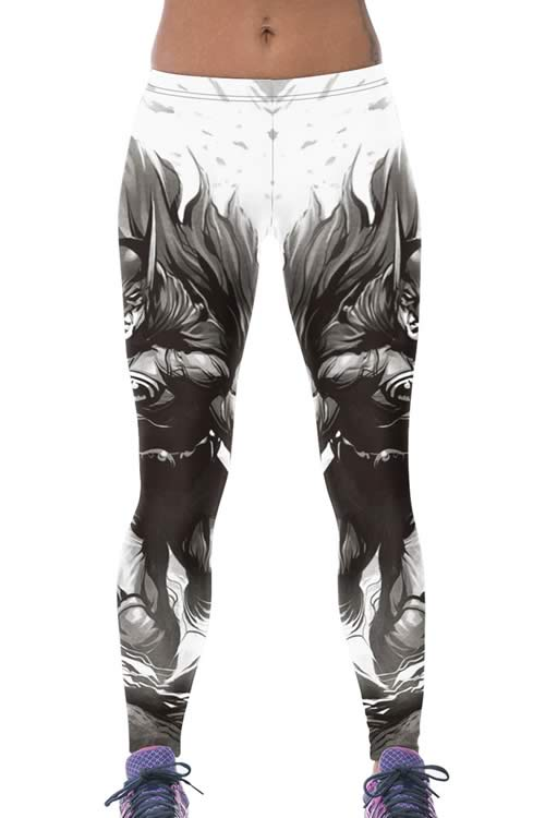 Cheap Batman Print Yoga Leggings for Sale