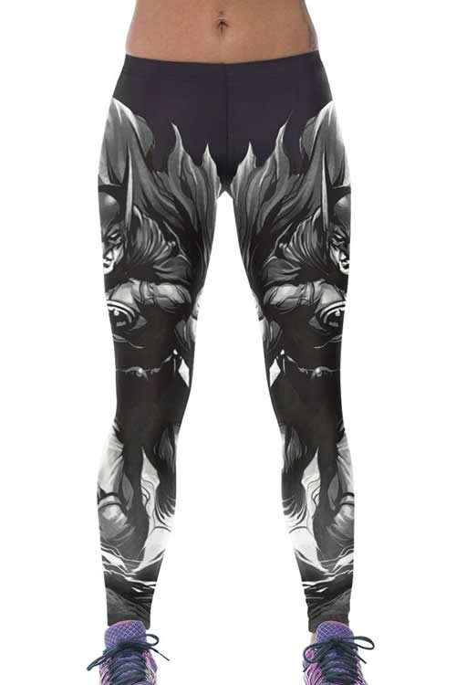 Women Batman Printed Yoga Pants for Sale