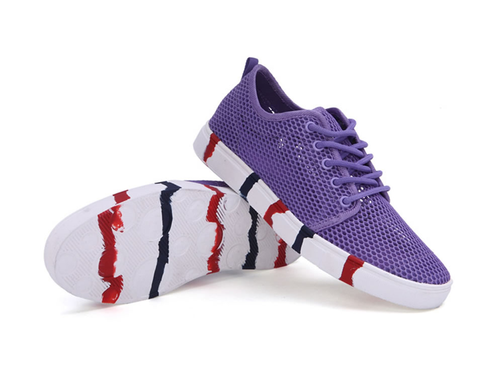 V17 Women Authentic Fashion Tennis Skate Couples Shoes in Purple