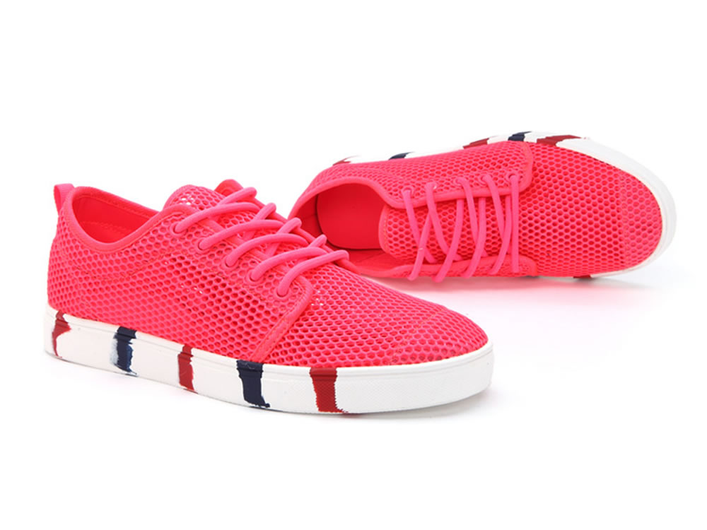 V17 Women Authentic Fashion Tennis Skate Couples Shoes in Red
