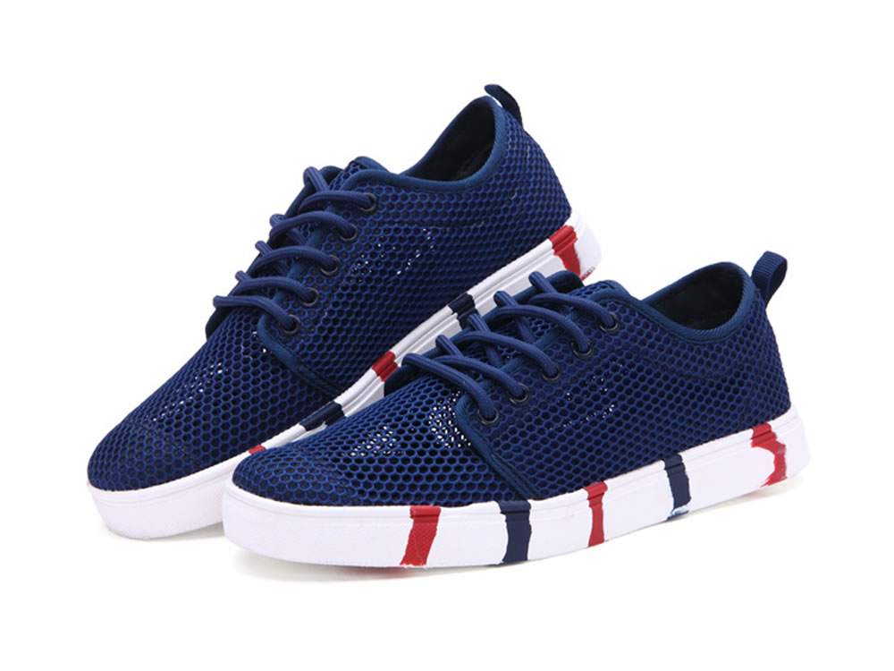 V17 Women Authentic Fashion Tennis Skate Couples Shoes in Dark Blue